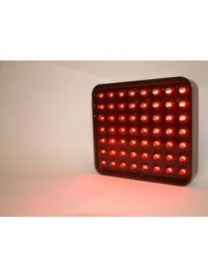 Rem/stoflicht LED vierkant 102x92mm